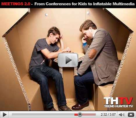 Meetings 2.0 - Conferences for Kids, Inflatable Multimedia and Holograms