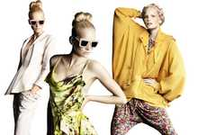 Spring Floral Collections - The H&M SS 2010 Collection is Light and Feminine