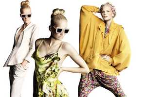 The H&M SS 2010 Collection is Light and Feminine
