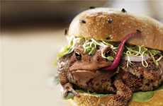 Toad Burgers - 'Fire the Chef 2' Shows Creepy but Faux Photoshop Cuisine