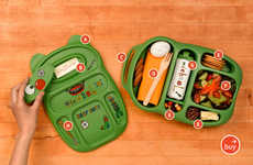 Fun Food Containers - Goodbyn Compartmentalized Lunchboxes for Kids & Adults