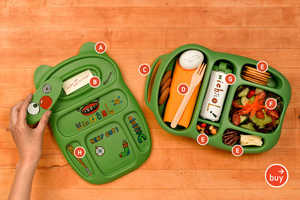Goodbyn Compartmentalized Lunchboxes for Kids & Adults