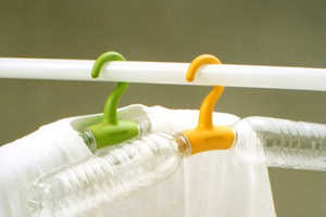 'Rethink Concepts' Repurposes Beverage Containers to Hang Clothes