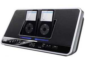 The JVC Dual iPod Dock Let's You Be Your Own DJ