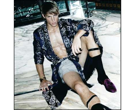 Silky Mens Loungewear. 'The World of Tom Ford' Collection is Sexy and ...
