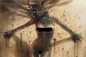 Peter Gric Mixes Abstract 3D With Spiritual Practice