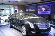 Orchid-Inspired Caddies - 2012 Cadillac XTS Platinum Concept is a Work of Art