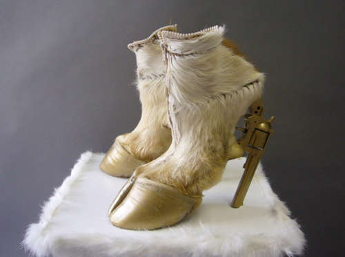 Armed Animal High Heels