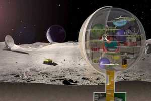 Royal Haskoning Architects Create a Villa Concept for the Moon
