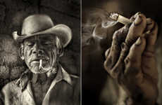 Gritty Realism Photography - Jeff Martin's Local Portraits Are Expressive