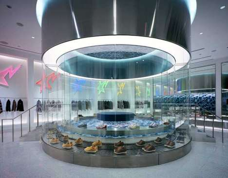 Spaceshipified Stores - Retail Outlets That Boldly Go Where None Have Gone Before
