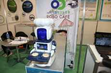 Robot Run Restaurants - Robo Cafe Signals the Coming Rise of the Machines
