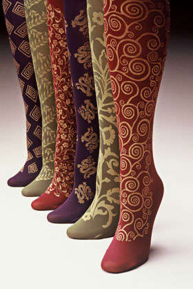 Renaissance Trouser Socks - Dangerous Liaisons Finery for Your Hands and Feet