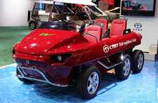 Amphibious Electric Autos - Ct&T Unveils EV MAV at Detroit Auto Show