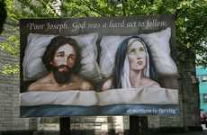 Scandalous Church Billboards - St. Matthew in the City Anglican Church Stirs Controversy With Ad