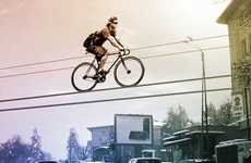 Elevated Bike Rails
