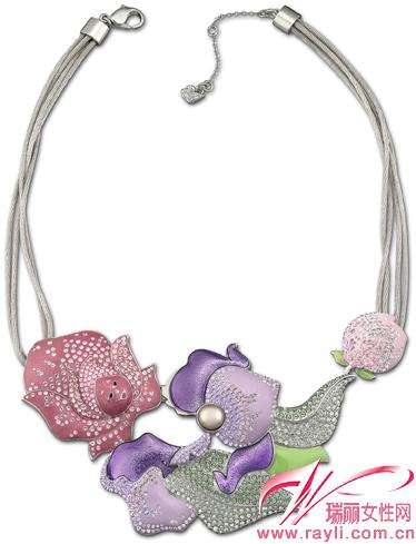 Floral Fantasy Necklaces
