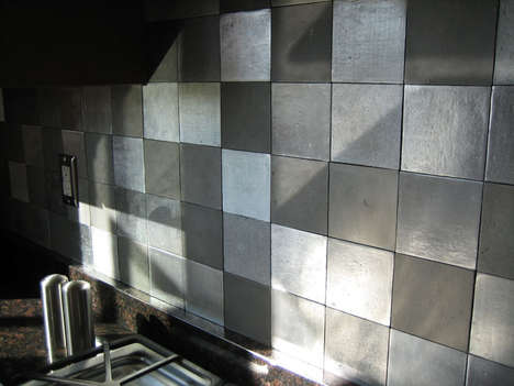 Recycled Metal Tiles