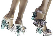 Crystal-Encrusted Heels