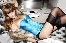 Deodorant Sexvertising - Keeley Hazell's Enigmatic Lynx Twist Deodorant Ad