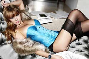 Keeley Hazell's Enigmatic Lynx Twist Deodorant Ad
