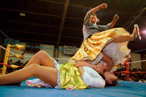 Bolivian Female Wrestling May Be the Next Big Thing