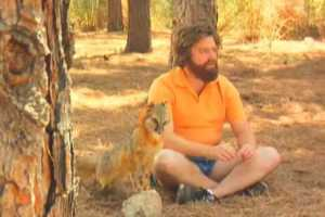 Zach Galifianakis is the Snuggler and is Too Funny for Words