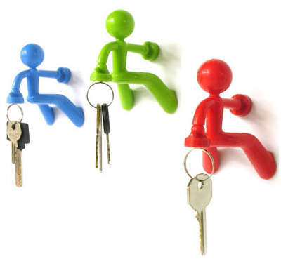 Wall Climbing Key Holders