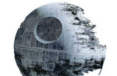 Sci Fi Wall Stickers - The Death Star Decal Will Make Any Room Cooler than It Was