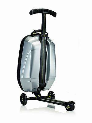 Suitcase Segways - Samsonite and Micro Mobility's Trolley Scooter Makes Traveling Nerdier