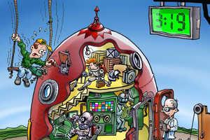 Peter Welleman Shows the Fun Side of Mechanics
