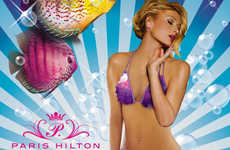 Mermaid Bikinis - The Paris Hilton Swimwear and Lingerie Collection for Spring 2010