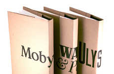Book Jacket Disguises - Book City Jackets Make You Look Smart Even While You Read 'Twilight'