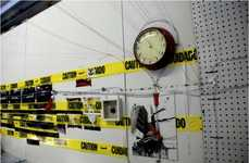 Urban Caution Tape Art