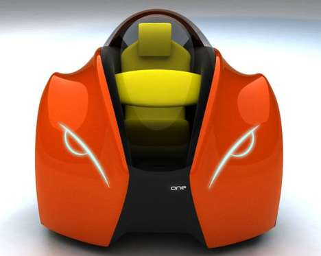 Segway-Inspired Cars - The 2028 One is a Single-Seater for the Inner City