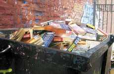 Tragic Book Trashing