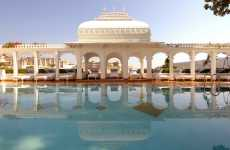 Indian Lake Palaces - The Taj Lake Palace is a Luxury Hotel on Its Own Island