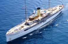 $70 Million Retro Boats - The SS Delphine Steam Yacht is a Piece of History