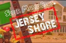 Guido Gamers - Drcoolsex Makes a 'Jersey Shore' Super Mario Mashup