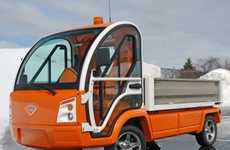 Fishy Eco Cars - The Nemo Electric Truck is a Small, Earth-Friendly Vehicle