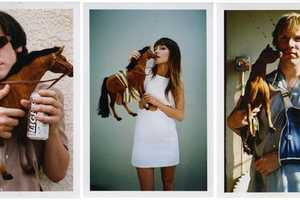 Mel Kadel Features People Holding Horses in 'LA Horse Show'