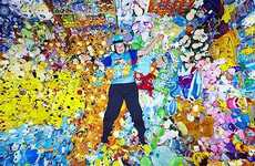 Obsessive Pokemania - Pokemon Collector Lisa Courtney Breaks World Record for Stuffies With 13,400