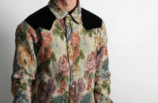 Safari Floral Mens Shirts
