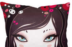 Vibrant Illustrated Cushions - 10 Limited Edition Pillows by Global Designers