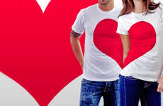 Half-Hearted Apparel - The 'Love' Tee by Alexandr Schwarz is Just in Time for Valentine's Day