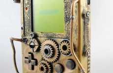 Steampunk Game Boys - Artist Turns a Game Boy into Victorian Treasure