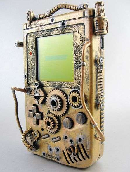 Steampunk Game Boys