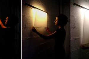 Customize Your Light With the Scroll Painting Lamp on I New Idea