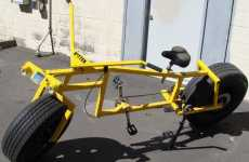 Heavyweight Road Bikes - The Kitten Bike from Gregory Degouveia Has Car Wheels