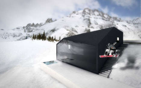 The Snow House is a Mild-Manned Mountain Abode